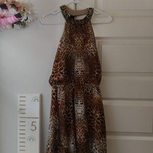 Bisou Bisou Leopard Dress